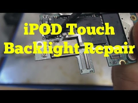 iPod Touch 4th Generation Backlight Repair |  How to Fix an iPod Backlight