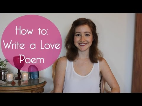 How To Write A Love Poem // Poetry Writing Exercise for Valentine's Day
