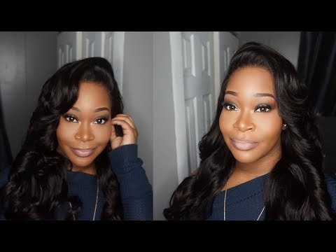CHEAP Aliexpress Lace Frontal Wig Install Review   Fabwigs Hair