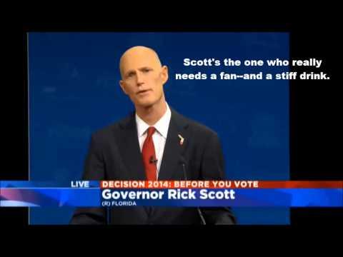 Why Rick Scott Sucks Redux: Fans, Gun Laws, and Medicaid