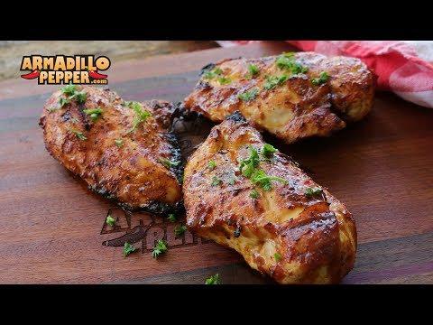 Luigi's 5 Ingredient Sriracha-Mustard Chicken | Gourmet Guru Grill