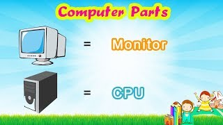 Parts of computer (learning video for kids and toddlers