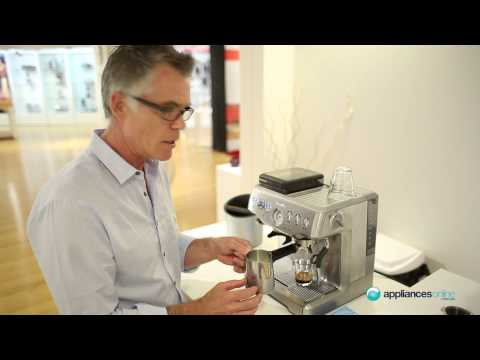 How to make the perfect cup of coffee using the Breville BES860 - Appliances Online
