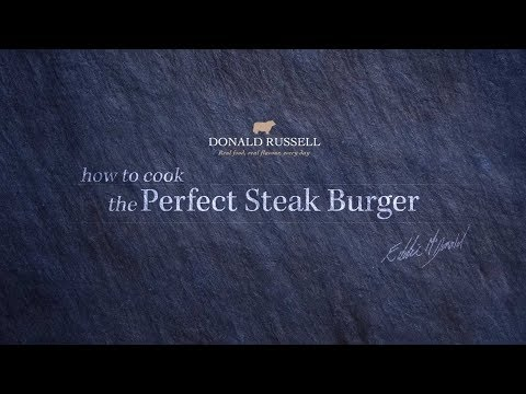 How to cook the Perfect Gourmet Steak Burger (SM)