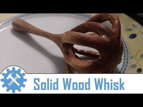 Small homemade wooden Whisk