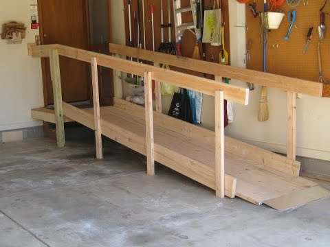 Build Long Do it Yourself Wood Wheelchair Ramps in 2hr