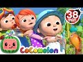 12345 Once I Caught A Fish Alive 2 More Nursery Rhymes amp Kids Songs CoCoMelon