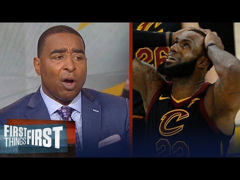 Cris Carter on KD's Warriors beating LeBron's Cavs in Game 1 of Finals   NBA   FIRST THINGS FIRST