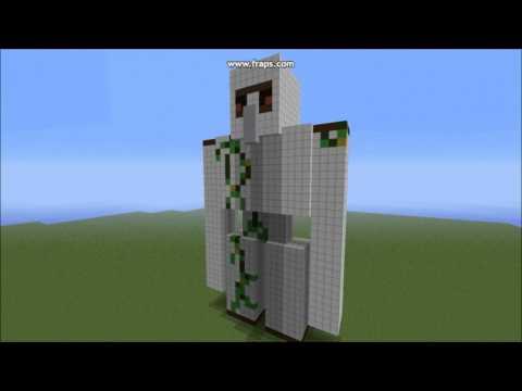 minecraft  iron golem statue | TheWorldOfBuilding #1