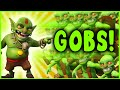 Clash Of Clans 225 Goblins Only Attack Crazy Raids 1