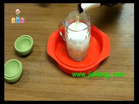How to make round ice cubes,using silicone ice ball