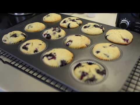 Blueberry Lemon Muffins!