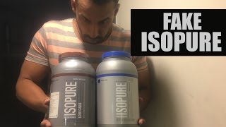 EXPOSED- Fake isopure, Know the difference