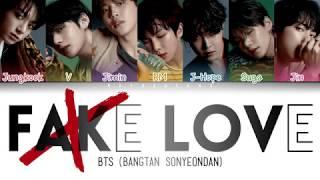 BTS (방탄소년단) FAKE LOVE lyrics han rom eng Videos - 9tube tv