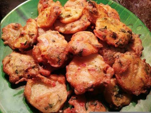 5 മിനിറ്റ് കൊണ്ട്  Special ഉരുളക്കിഴങ്ങ് ബജ്ജി / Potato Fritters