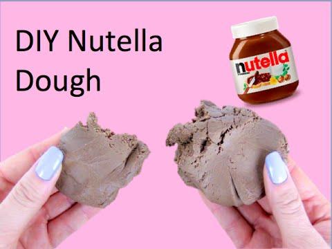 DIY Nutella Play Dough