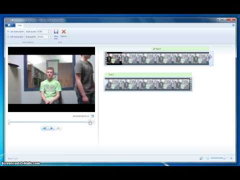 Trim, Split, Slow Motion and Seperate Audio in Windows Movie Maker