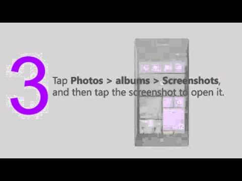 How to Take a screenshot in Windows Phone 8