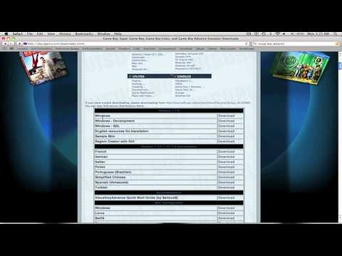 Visual Boy Advance Tutorial (Mac)