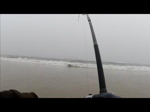 Rainy Day Bluefish - Post Storm Surf Fishing