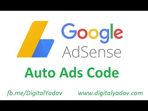 How to Place Adsense Auto Ads Code on WordPress Website in 2018