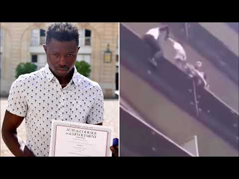 French 'Spiderman' Granted Citizenship