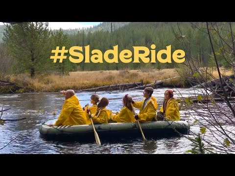 Slade Family Christmas Card 2016 #SladeRide