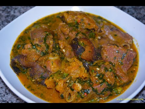HOW TO MAKE OGBONO SOUP - NIGERIAN STYLE OGBONO SOUP - ZEELICIOUS FOODS