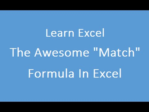 Match Formula in Excel in Hindi 1st Variation