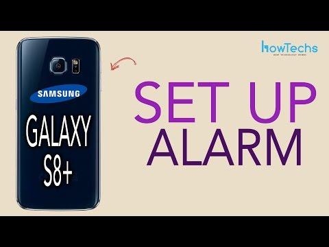 Samsung Galaxy S8/S8+ - How to Set Alarm