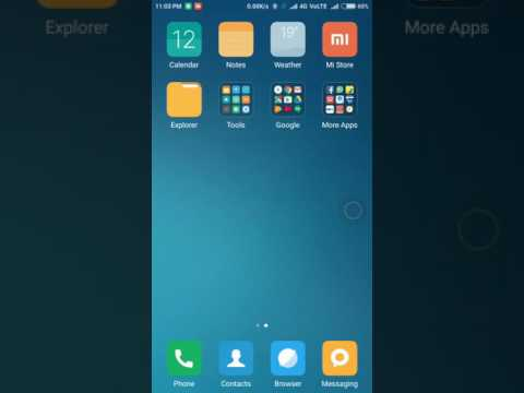 Unhide or View Hidden Files Folders or Albums Redmi Note 4 and All Xiaomi MI Phones