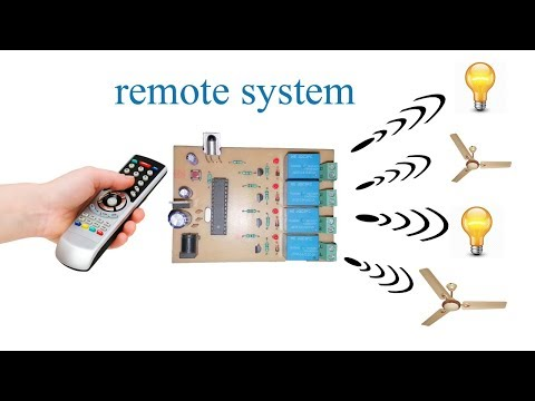 FAN and LIGHT control using TV remote || (HOME AUTOMATION)