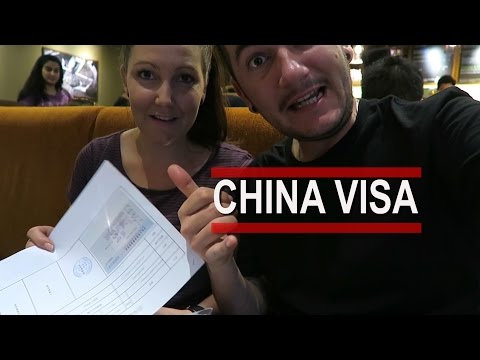 OUR ARRIVAL | GETTING A CHINESE VISA | VLOG 1