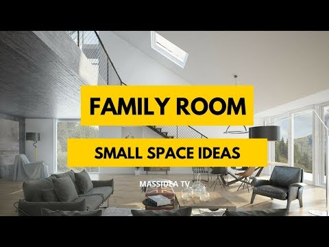 95+ Beautiful Small Space Family Room Ideas We love!