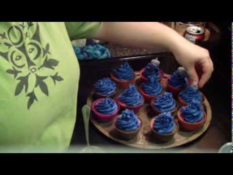 Making Bayberry Cupcake Soap