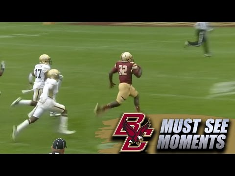 Boston College Football: Jon Hilliman 73-Yard TD Run | ACC Must See Moment