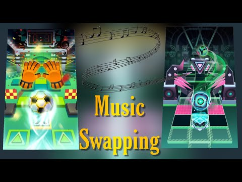 Rolling Sky Level 28 World Cup & Level 25 Neon - Music and Themes swapping