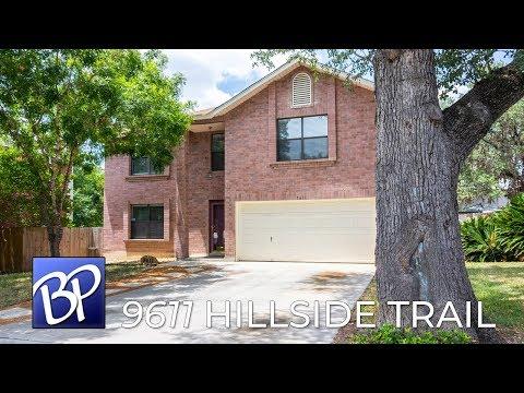 For Sale: 9611 Hillside Trail, San Antonio, Texas 78250