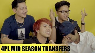 SECOND ROUND OF TRANSFERS (4PL)