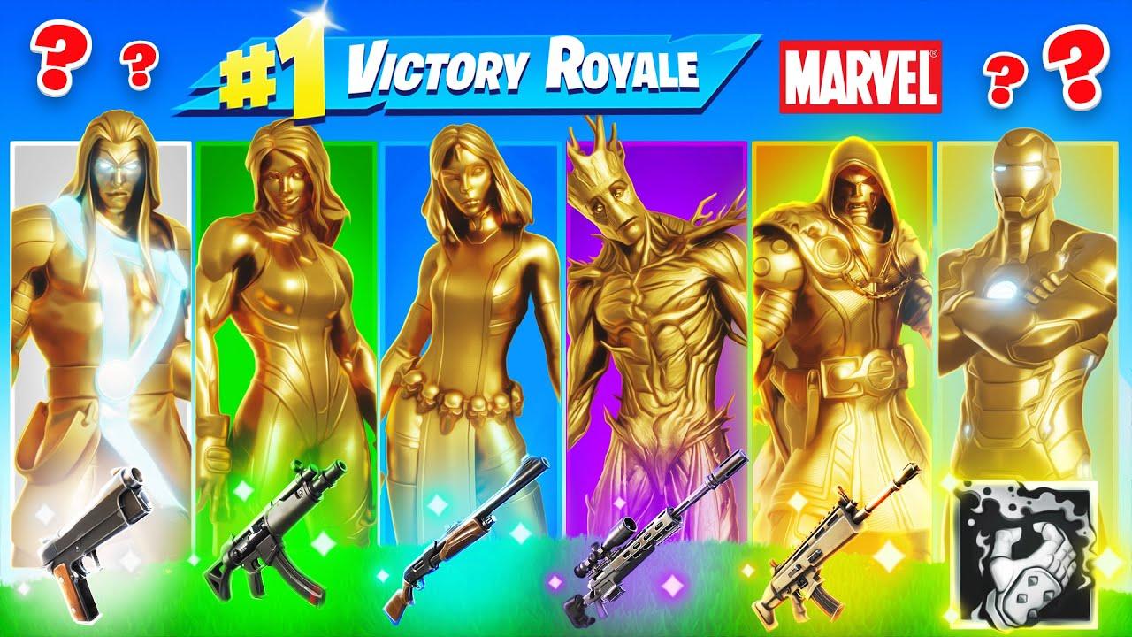 The *RANDOM* FULL GOLD MARVEL Challenge!