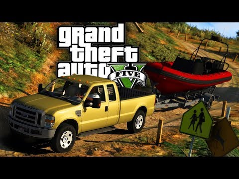 Buying a Boat!! - GTA 5 Real Hood Life 2 - Day 8