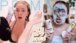 I Only Used PRIMARK BEAUTY for 24 HOURS... and now I'm patchy af