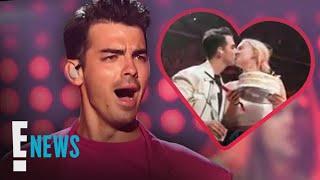 Joe Jonas Gets an Onstage Kiss From Sophie Turner   E! News