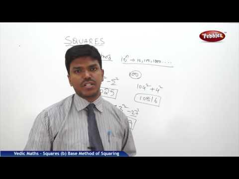 Base Method of squaring in Vedic Maths | Speed Maths | Vedic Mathematics
