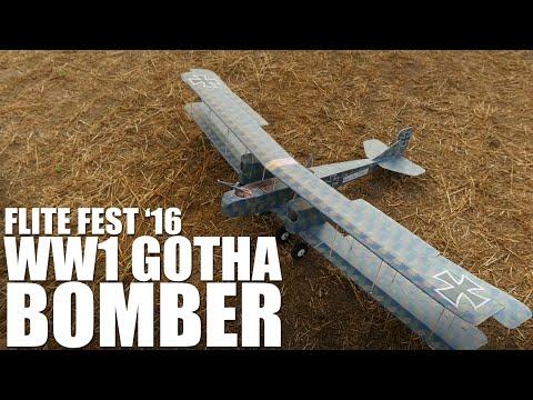 WW1 Gotha Bomber | Flite Fest 2016