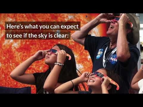 HOW TO SAFELY WATCH A SOLAR ECLIPSE - 2017 NASA Video