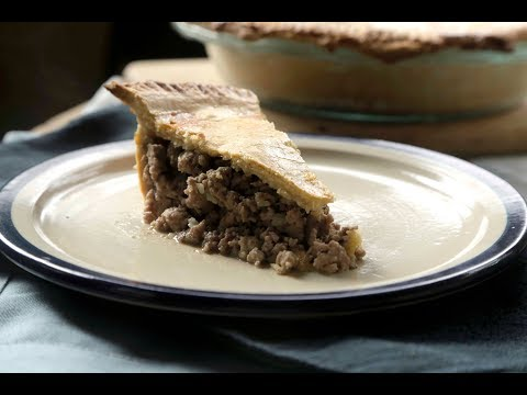 Meat pie or Tourtière