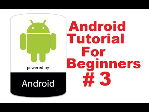 Android Tutorial for Beginners 3 # Building Your First Android App (Hello World Example)