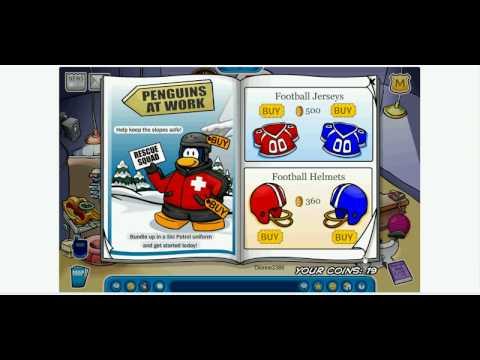 Club Penguin How to get rare clothing