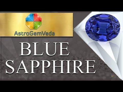 BLUE SAPPHIRE l Benefits & Procedure to Wear BLUESAPPHIRE | ASTROGEMVEDA.COM